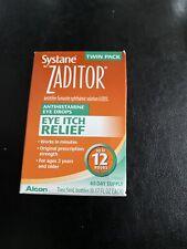 ‼️Alcon Zaditor Antihistamine Eye Drops - 0.17oz (2 Pack)‼️