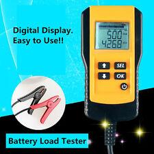 12V Car Vehicle Battery Tester Automotive Analyzer Digital Display Shockproof