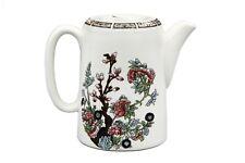 Vintage Indian Tree White Porcelain Teapot, Hotelware London Pitcher Water Jug