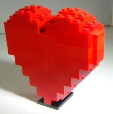 Lego 3D Heart Set 2009 Very Rare Employee Gift (92 pieces)