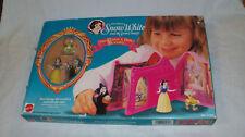 Vintage SNOW WHITE & SEVEN DWARFS Disney Once Upon a Time Playset Mattel #5130