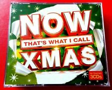 NOW THAT'S WHAT I CALL XMAS 2006  3 x CD -*VG/EX* ABBA CHRIS REA WHAM WIZZARD