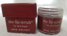 Sara Happ RED VELVET The Lip Scrub Jojoba Seed Oil Full Sz 1 oz/30g New Sealed