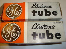 One Matched Pair of 6L6GC Tubes, By GE, NIB