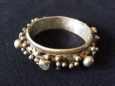 Bracelet articulé Berbère Guelmin argent pané XIXe Sud Maroc et Mauritanie