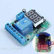 Relay Delay Control Timer Switch Over/ Under Voltage Protection Module DC 10-16V