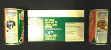 1976 Canada Dry Gingr Ale tm logo Standings Board Display w/Order Forms & 2 cans