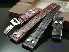 Genuine Leather Strap IWC Wristwatch Bands