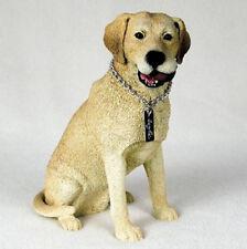 LABRADOR RETRIEVER LAB (YELLOW) MY DOG Figurine Statue Pet Lovers Gift Resin