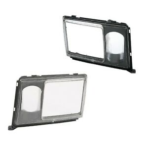 Set of 2 (Left and Right) Headlight Door For Mercedes W124 260E 300Ce 300D 300Dt