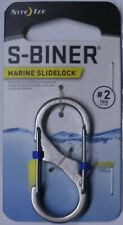 Nite Ize S-Biner Slidelock Carabiner Key Chain # 2 Stainless Steel LSB2-11-R3