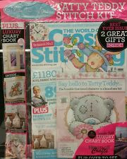 World of Cross Stitching UK Free Gifts Spring  3D Makes #228 2015 FREE SHIPPING