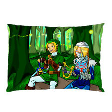 pillowcover INK AND SHEIK OF ZELDA 2 side 18x26 Pillow Cover With a Zippered