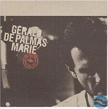 GERALD DE PALMAS marie CD PROMO