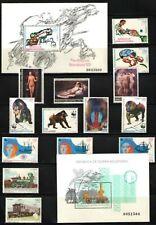 GUINEA ECUATORIAL 1991 AÑO COMPLETO EDIFIL 133-148 NUEVOS SIN CHARNELA MNH