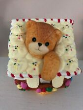 Vintage Lucy And Me Figurine 1994 Christmas Gingerbread House Adorable!
