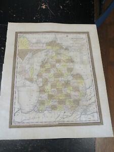 Michigan - A New Universal Atlas, ca: 1841 map maker, Henry Tanner