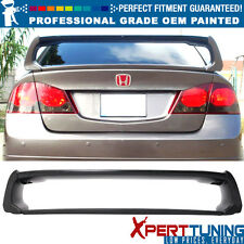 06-11 Honda Civic Mugen Style Painted ABS Trunk Spoiler - OEM Painted Color