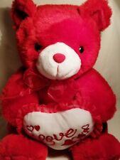 "Love 12"" Red Bear"