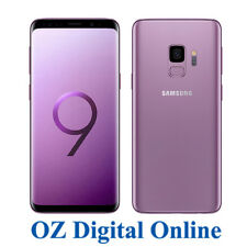 "NEW Samsung Galaxy S9 G960 64GB +128GB Purple 12MP 4G 5.8"" Unlocked Phone 1YrWty"