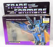 Transformers Original G1 1985 Dirge Complete w/ Box Bubble Very Nice Unused