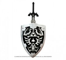 Full SIze Dark Link's Hylian Shield Master Sword from the Legend of Zelda Combo