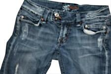 Miss Me Limited Ed Jeans Distressed Skinny Flare Ankle, 26, Rare Design, SRP$109