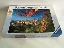 Ravensburger 5000 Pieces Jigsaw Puzzle View of Florence, Italy * COMPLETE * USED