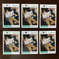 1991 UPPER DECK MICHAEL JORDAN STAY IN SCHOOL #22 INVESTOR'S LOT OF 6 CARDS