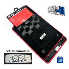 Holden VE Commodore Floor Mat Set HRT Motorsport SS SSV Genuine New 92285921