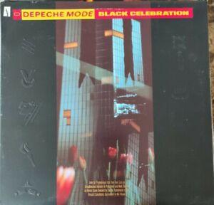 DEPECHE MODE - BLACK CELEBRATION - Embossed Near Mint Vinyl LP 1986 Promo Stamp