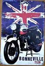 Triumph motorcycle metal tin sign vintage pub retro garage tattoo motorcycle