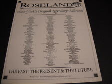 ROSELAND in NYC 1997 Promo Poster Ad STONE TEMPLE PILOTS Todd Rundgren MISFITS