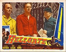 HELLGATE original 1952 lobby card STERLING HAYDEN/WARD BOND 11x14 movie poster
