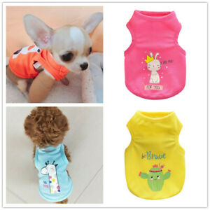 Teacup Dog Shirt Small Dog Clothes Chihuahua Yorkie Pajamas Size XXSmall XS XXXS