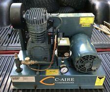 C Aire Air Compressor Head Pump With 5hp Motor S900b Hd3 460u
