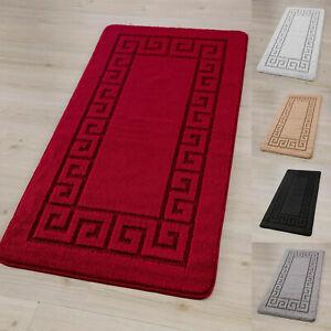 Modern Rocco Non Slip Doormat Carpet For Hallway Kitchen Bedroom Living Room