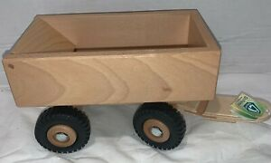 Ostheimer Tipper for Tractor Made in Germany Wooden Handcrafted Toy New