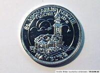 Medaille:  HAMBURG - ST MICHAELISKIRCHE / Michel -132m hoch -Silber-(?) 28g (b23