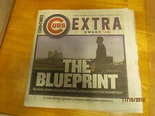 CUBS WORLD CHAMPS 10-PAPERS;CHI SUN-TIMES SEP18/OCT15,16,24,27,31/NOV 2,3,4,5