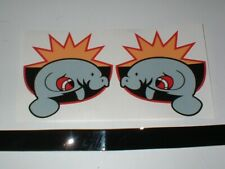 CFL MIAMI MANATEES FULL SIZE FOOTBALL DECALS