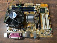Intel DG41WV Desktop Board Socket 775 Motherboard complete with CPU & 4GB Ram
