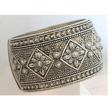 ANTIQUE VICTORIAN Style Womens Statement Fashion Bangle Cuff