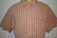 Men's Columbia Vented Fishing Shirt Size sz XL X Large Short Sleeve Button Front