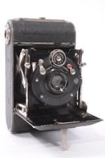 Used RARE Steinheil Speed 3x4cm Folding Camera w/ 5cm Actinar F4.5 Lens Germany