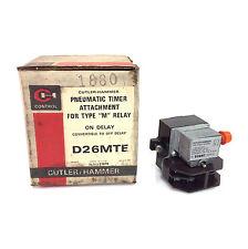 Accesorio De Temporizador neumático D26MTE D26MT-E Cutler-hammer
