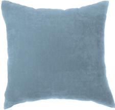 Ma10a Aqua Soft Velvet Style Cotton Blend Cushion Cover/Pillow Case*Custom Size