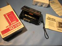 Panasonic,Walkman,Diktier,Aufnah.Kult der 1980.Jahre.Neuwertig-Antique technique