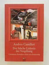 Andrea Camilleri Der falsche Liebreiz der Vergeltung Montalbano
