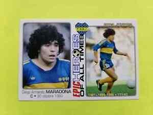 Diego MARADONA BOCA JUNIORS  Epic HEROES custom card